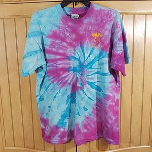 Vintage 1997, 17th annual OSRYPAA tie dye T